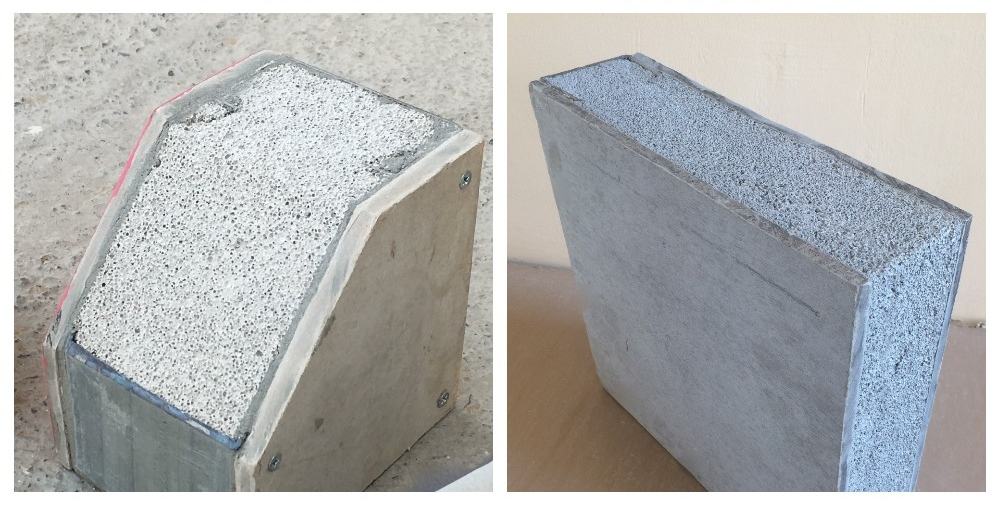 lightweight concrete insulation blocks floor screed