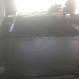 light concrete floor screed dubai