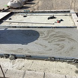 Non-autoclaved lightweight aerated concrete floor screed